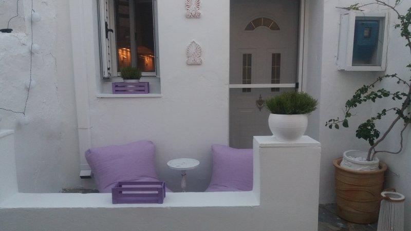 Kithnos Driopida Traditional House, location de vacances à Dryopida