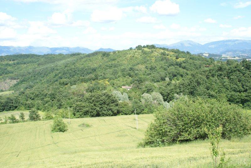 A vista do Baroncelli de Monte Salce e Belforte três nomes que já estão no '600.