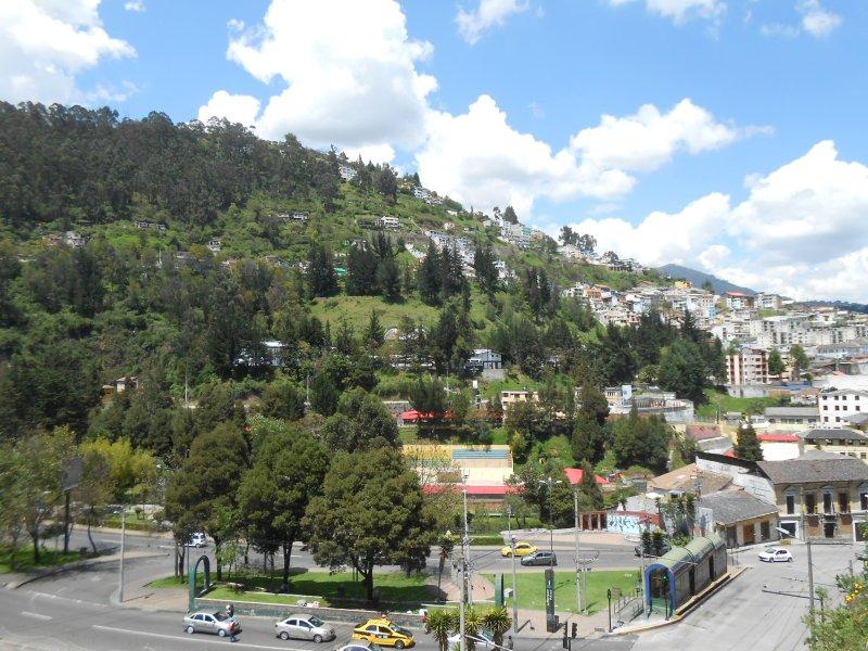 wonderful view of Panecillo