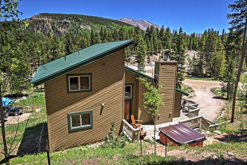 Ontspannen en te ontsnappen aan deze Blue River vakantiewoning huis!