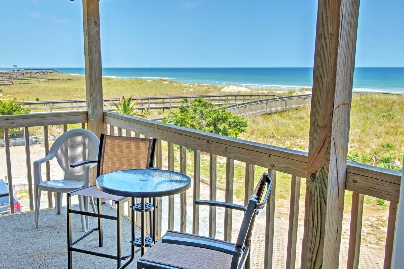 Elevate your North Carolina getaway when you stay at this vacation rental condo!