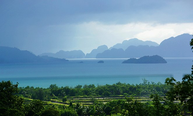 Phang Nga Bay a different dramatic view every day!