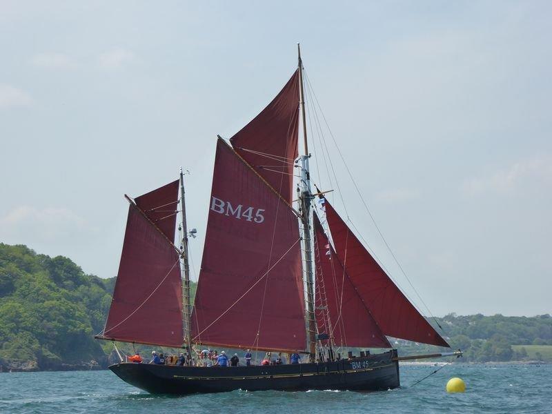 Coastal Sailing onboard Pilgrim of Brixham