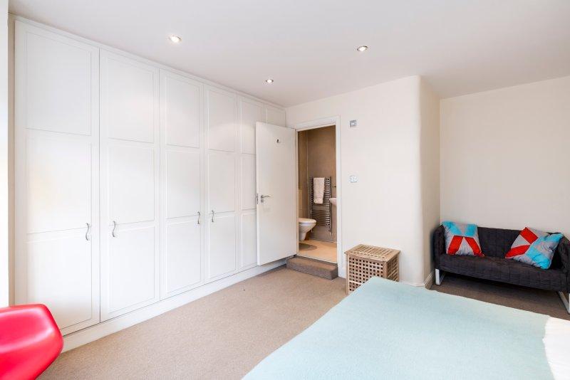 Master bedroom and ensuite shower