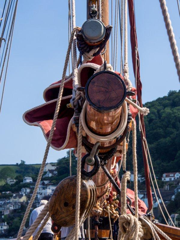 Pilgrims traditional rigging
