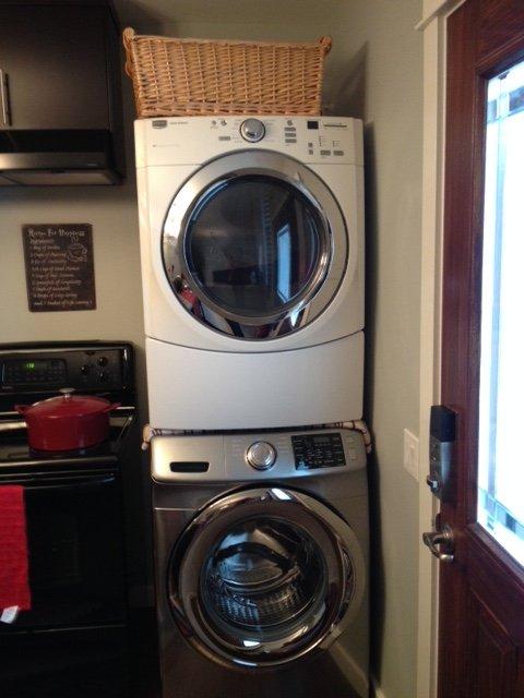 full laundry in suite