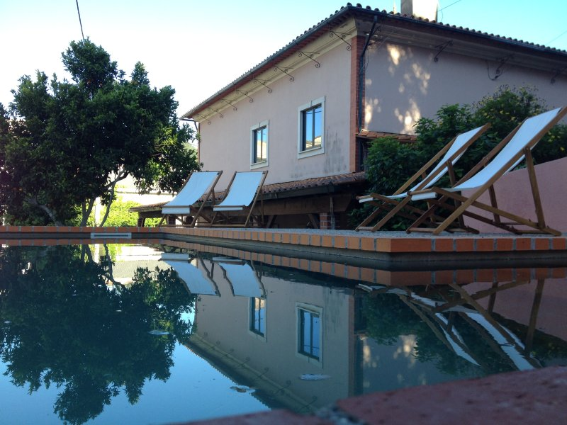 Pool and back of the house