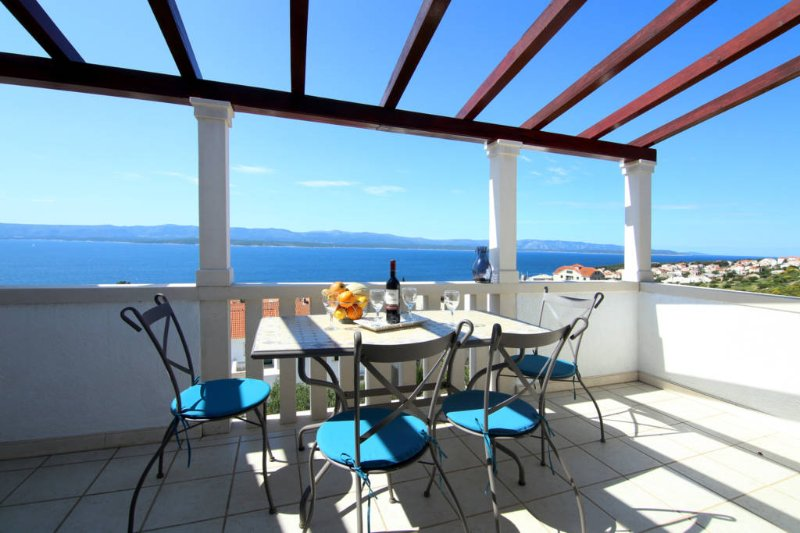 Villa Panorama A4 Blue, holiday rental in Bol