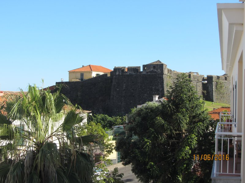 View from the balcony of the fortress