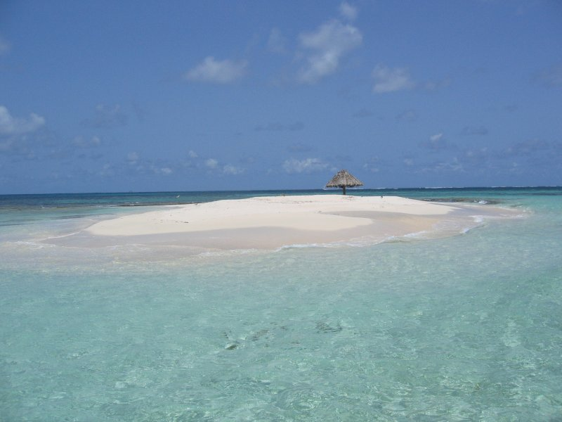 Nearby Mopion Island for picnics and snorkeling... Population just you!