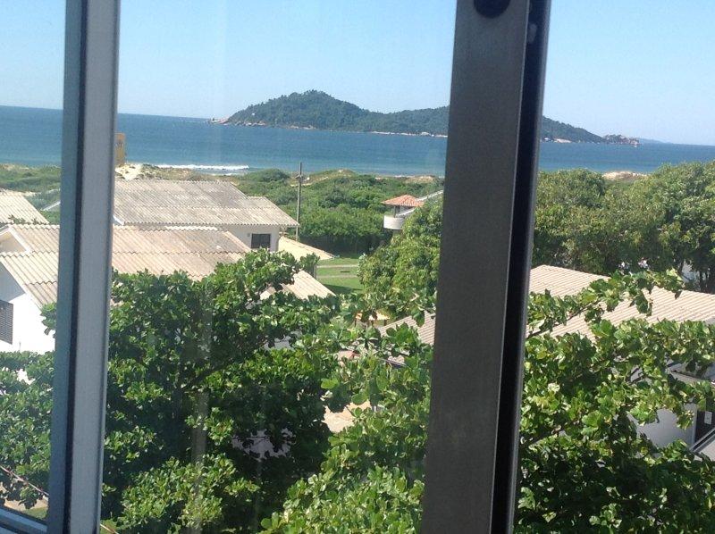 Vista da varanda de frente