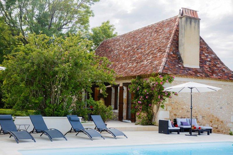 Clos des Pélissous, La Petite Vigne, 4 p., Piscine, holiday rental in Saint-Sauveur
