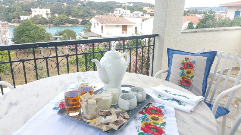 Villa Emeli - Sea view & near a private beach, vacation rental in Porto Heli