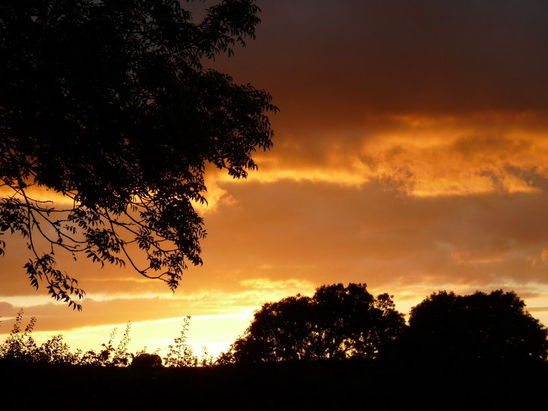 Just another sunset in Great Asby......