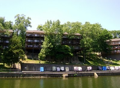 View of Condo from Dock