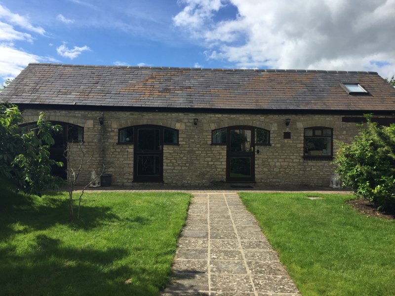 Front of Stable Cottage