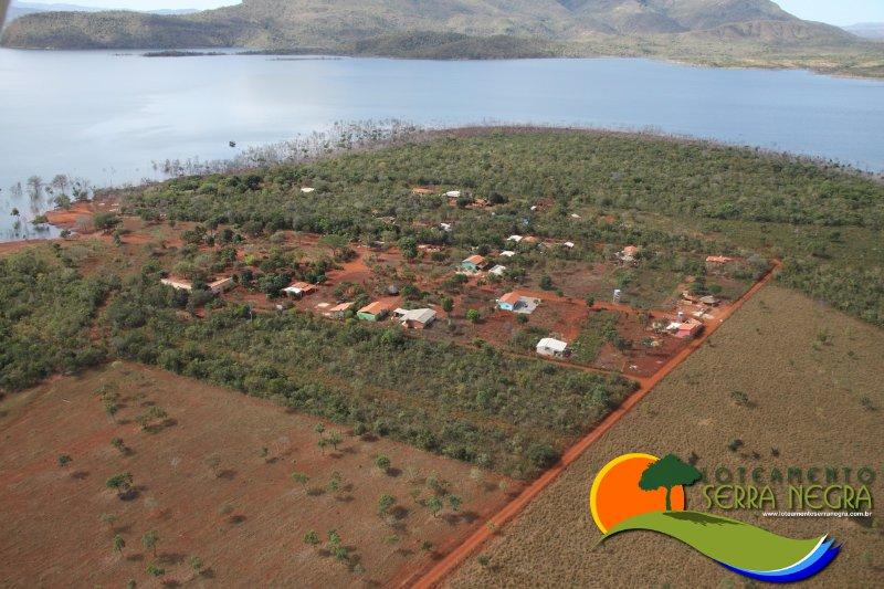 Vista área do Recanto Serra Negra