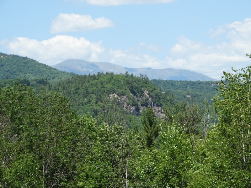 View of MT Washington from the deck
