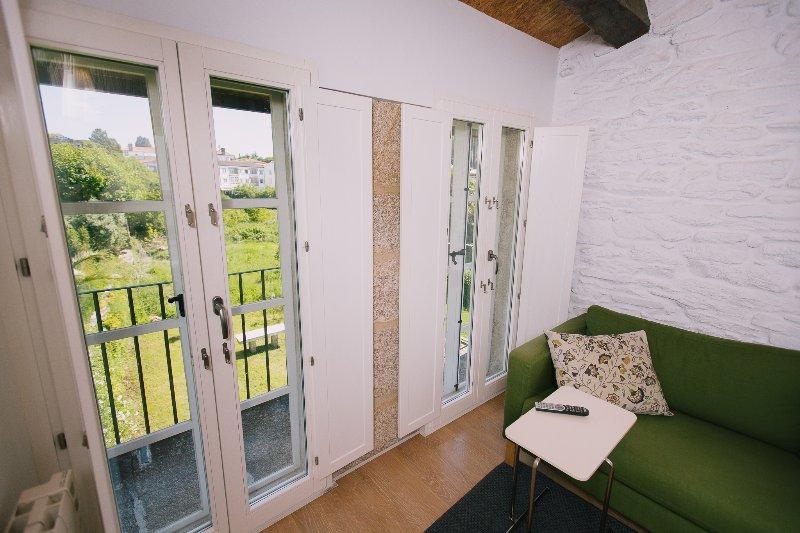 open views over Huertas back gardens