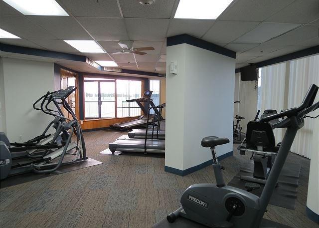 Sala de ejercicios comunitaria