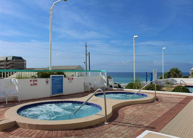 Hot Tubs with Gulf View