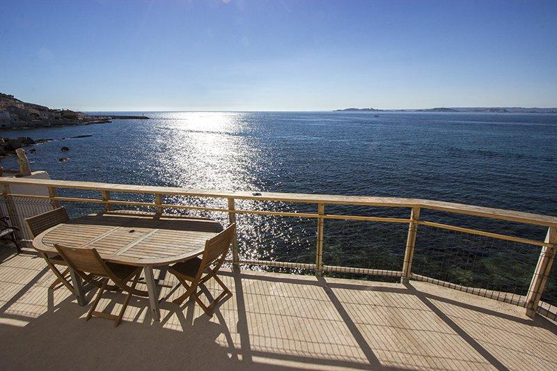 Cabanon Marseillais d'exception, location de vacances à Marseille