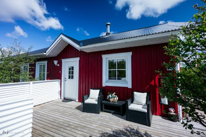 Birkilundur, luxury cabin near Borgarnes, holiday rental in West Region