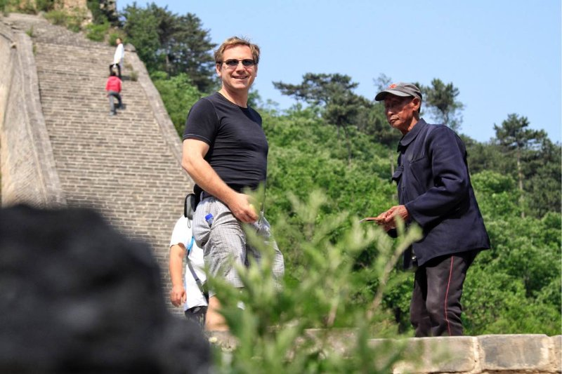 the Great Wall tour with owner