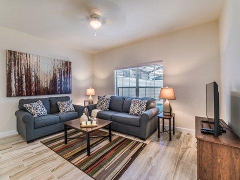 Interior, Habitación, muebles, sala de estar, la lámpara