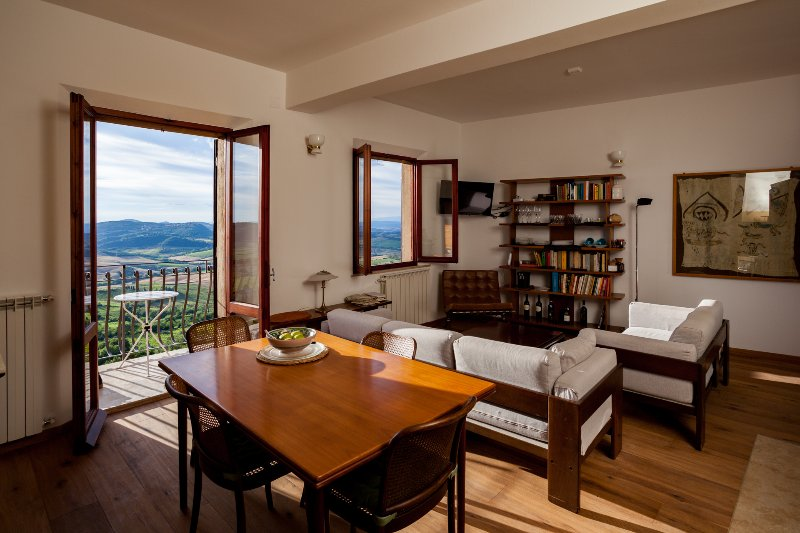 A view from the top, holiday rental in Montepulciano