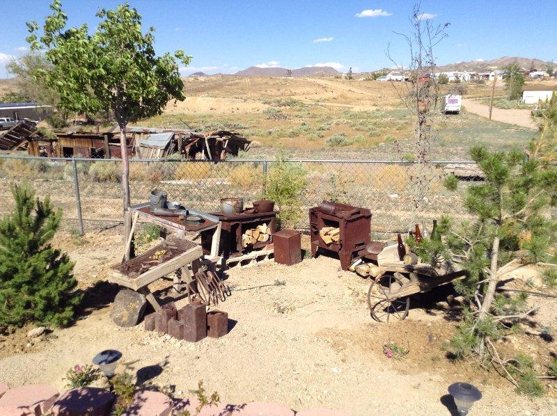 campo del minatore in cortile