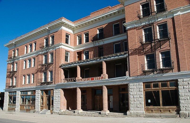 Notoriamente infestata Goldfield hotel (chiuso)