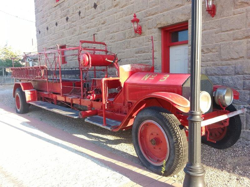 Storico edificio 1.907 pompieri (chiuso)