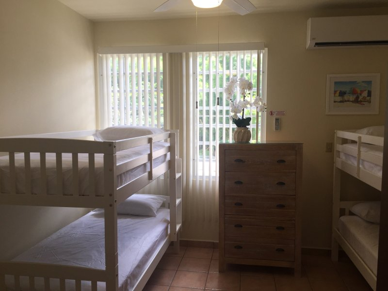 Second Bedroom with Two Twins Bunk Beds and Sitting Area
