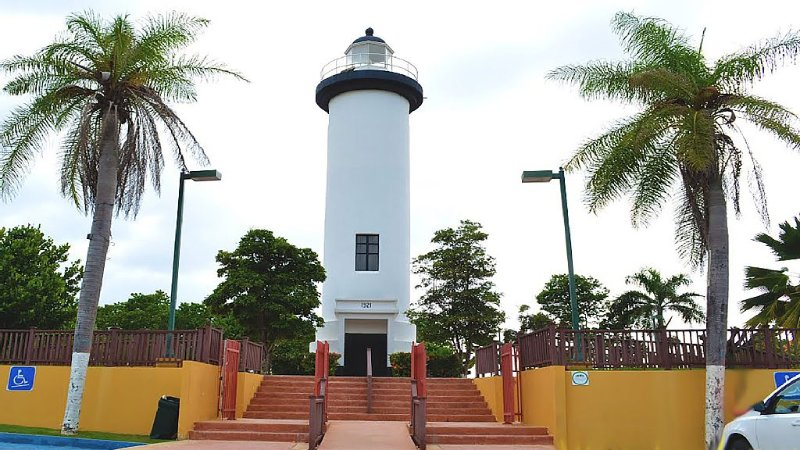 Rincon Light House at 9 Minutes.