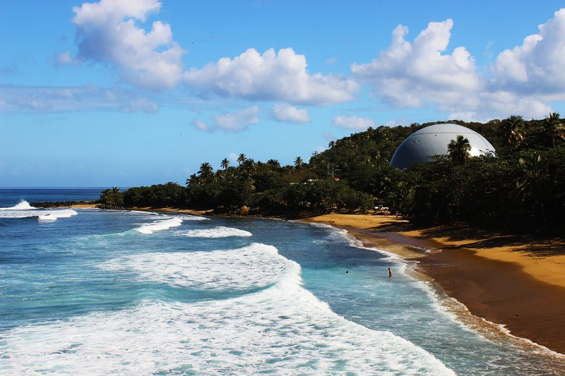 Dome's Beach Rincon at 12 minutes away.