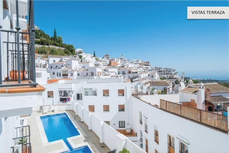 Apto para 2 personas. Piscina. WIFI, holiday rental in Frigiliana