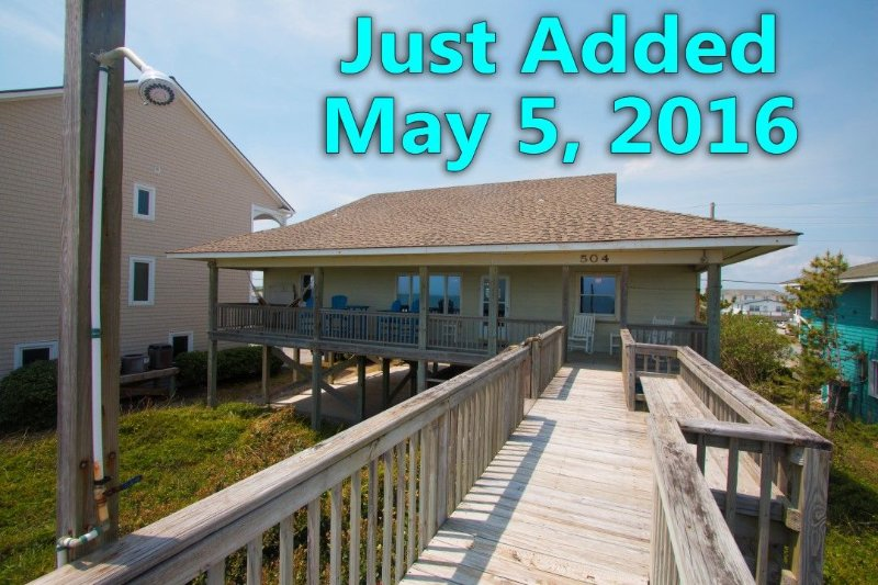 Just added to our rentals on May 5, 2016