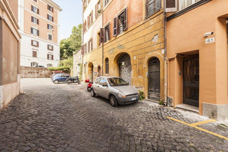 romantisk studio i Trastevere i Rom centrum