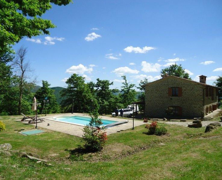 Esterno lato piscina