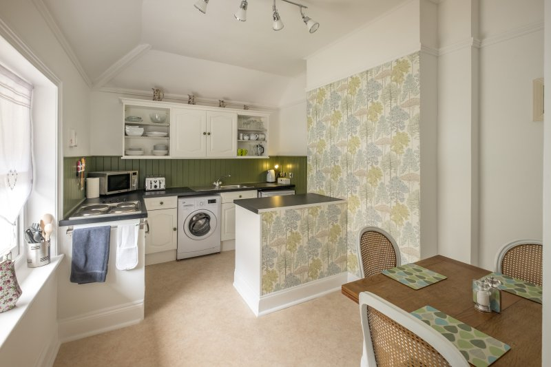 Large kitchen diner with all new appliances and views over the rear garden