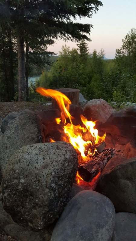 Fire ring at KRSELC
