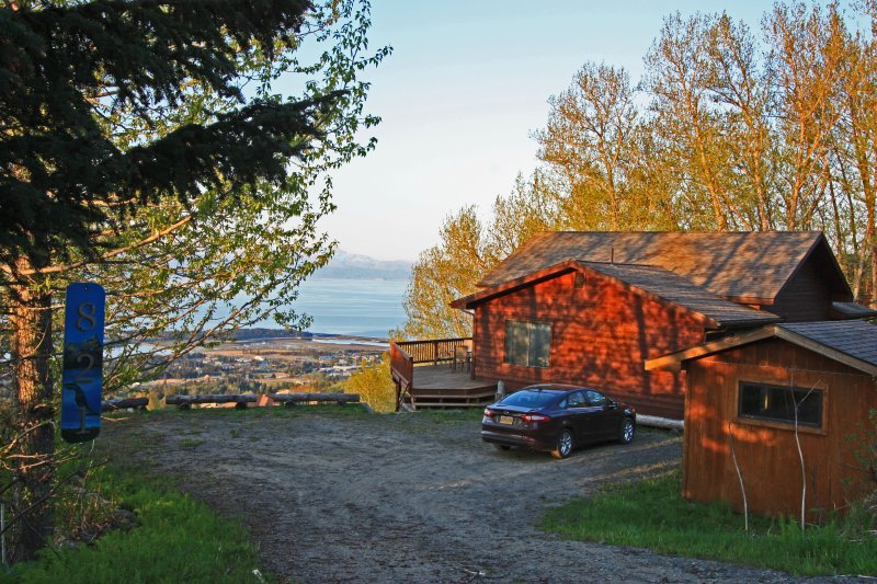 Stunning Panoramic View (lower unit), holiday rental in Fritz Creek