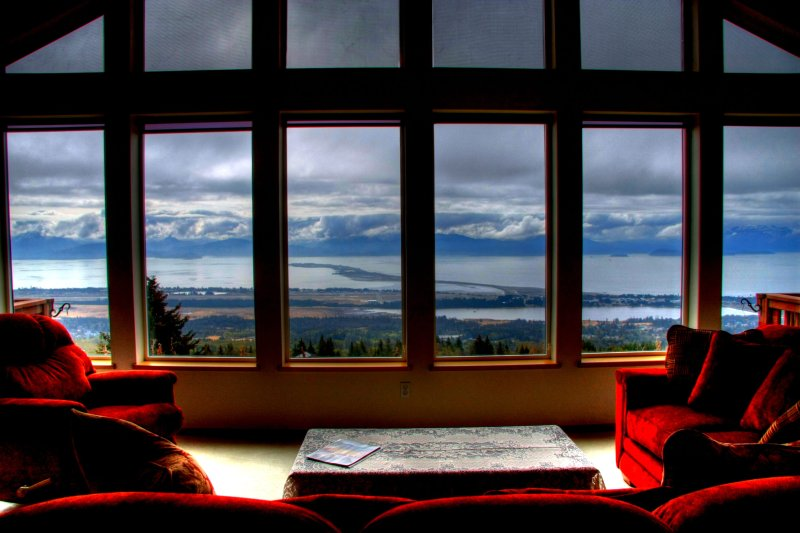 Stunning Panoramic View (Upper/Lower/Whole House), vacation rental in Homer