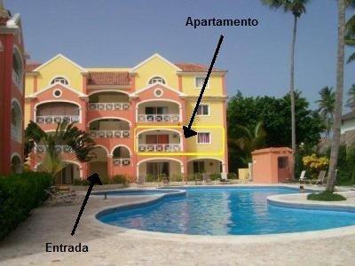 Apartamento en alquiler en El Dorado, location de vacances à Punta Cana