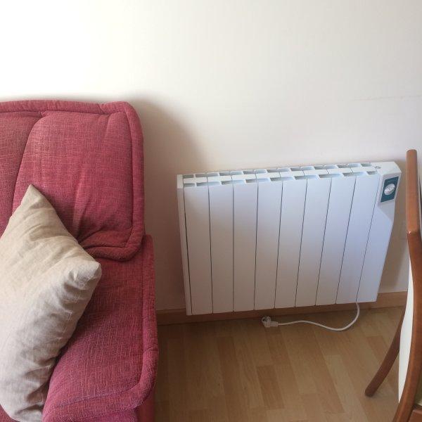 Calefacción: salón/cocina