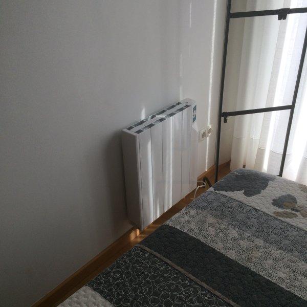 Calefacción: dormitorio principal