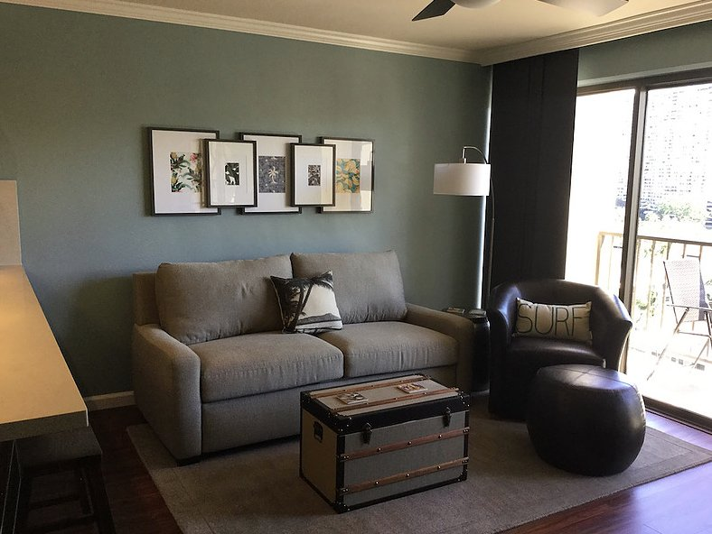 Living Room - Queen Sleeper Sofa