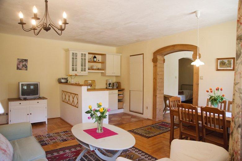 Apartment 'Silvia', holiday rental in Oberwaltersdorf