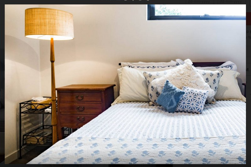 Ground Level:  Boutique Retro Bedroom: Sleeps (2)